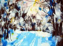Winter, Schnee, Natur, Wald