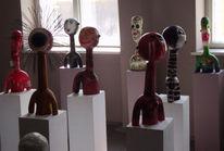 Keramik, Modern, Design, Skulptur