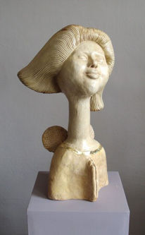 Modern, Skulptur, Design, Keramik
