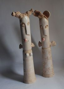 Design, Skulptur, Portrait, Keramik