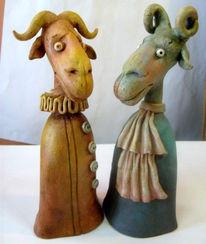 Keramik, Skulptur, Clay, Tiere