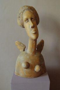 Skulptur, Keramik, Portrait, Kunsthandwerk