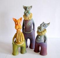 Design, Skulptur, Keramik, Tiere