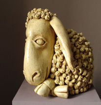 Skulptur, Keramik, Modern, Kunsthandwerk
