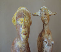 Keriamk, Keramik, Skupltur, Figurative kunst