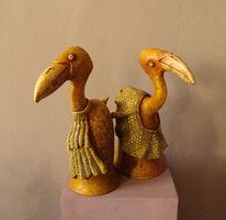 Vogel, Keramik, Modern, Design