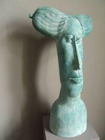 Keramik, Skulptur, Portrait, Skupltur