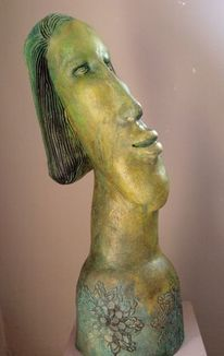 Keramik, Portrait, Skulptur,