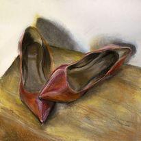 Mädchen, Pumps, Schuhe, Rot