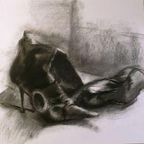 Stiefel, Damenschuhe, Schuhe, Schwarz