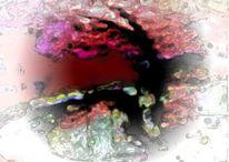 Digital, Digitale bearbeitung, Duft, Farben