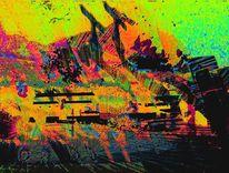 Digitale kunst, Natur, Wasserhahn, Technik