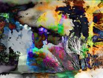 Spielerei, Sinn, Digitale kunst, Augenblick