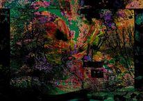 Stimmung, Gemälde1, Digitale kunst, Augenblick