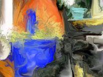 Farben, Stilleben90x67, Bildbearbeitung, Künstlerische