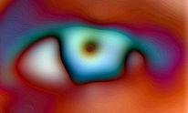 Digital, Weitblick, Augen, Bearbeitung