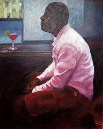 Mann, Hemd, Malerei