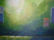 Malerei, Wand