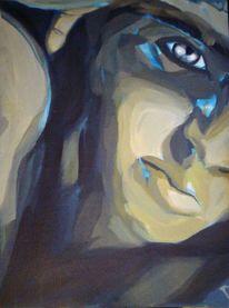 Gesicht, Portrait, Augen, Junge
