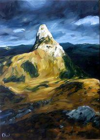 Felsen, Berge, Gipfel, Frische