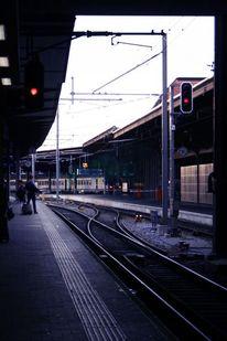 Bahnhof, Architektur, Pendeln, Fotografie