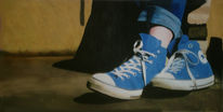 Schuhe, Malerei, Figural