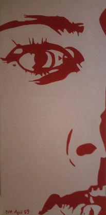 Gesicht, Malerei, Portrait