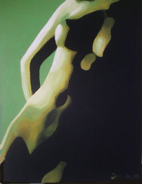Akt, Malerei, Surreal, Körper