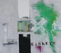 Modern, Zeitgenössisch, Gemälde, Design