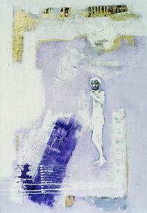Abstrakt, Gemälde, Malerei, Michelangelo