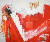 Zeit, Finanz, Abstrakt, Malerei