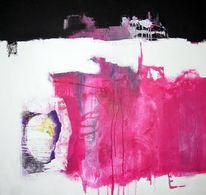 Zeit, Abstrakt, Sylt, Gemälde
