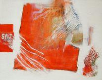 Modern, Design, Abstrakt, Gemälde