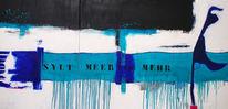 Malerei, Meer, Abstrakt, Nordsee
