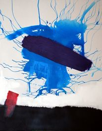 Tabula, Abstrakt, Gemälde, Blau