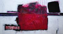 Wohnraumdesign, Gemälde, Pink, Abstrakt