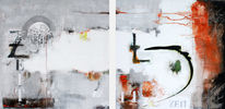 Design, Abstrakt, Gemälde, Zeit