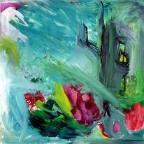 Abstrakt, Warm, Experimentell, Malerei