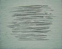 Schwarz weiß, Nebel, Oberfläche, Schnee