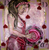 Pink, Rot, Brust, Seele