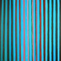 Linienbilder, Acrylmalerei, Abstrakt, Malerei