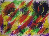 Malerei, Abstrakt, Durcheinander