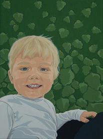 Acrylmalerei, Acrylmalerei auf leinwand, Fotografie, Portrait