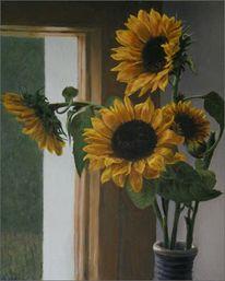 Fotografie, Blumen, Ölmalerei, Blumenmalerei