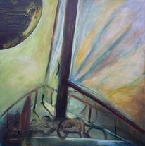 Malerei, Welten, Unterwegs, Fremde