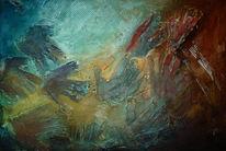 Malerei, Surreal, Rettung
