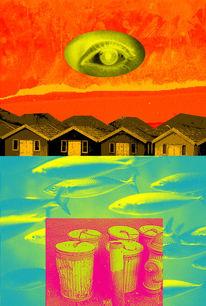 Hochformat, Digitale kunst, Surreal, Nordlicht