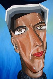 Kopf, Mann, Figural, Portrait
