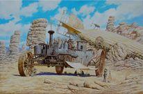 Steampunk, Dampf, Malerei