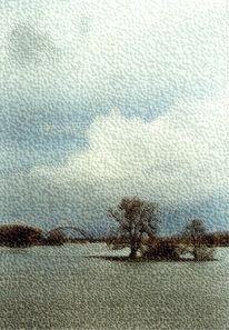 Dömitz, Elbe, Hochwasser, Mecklenburg
